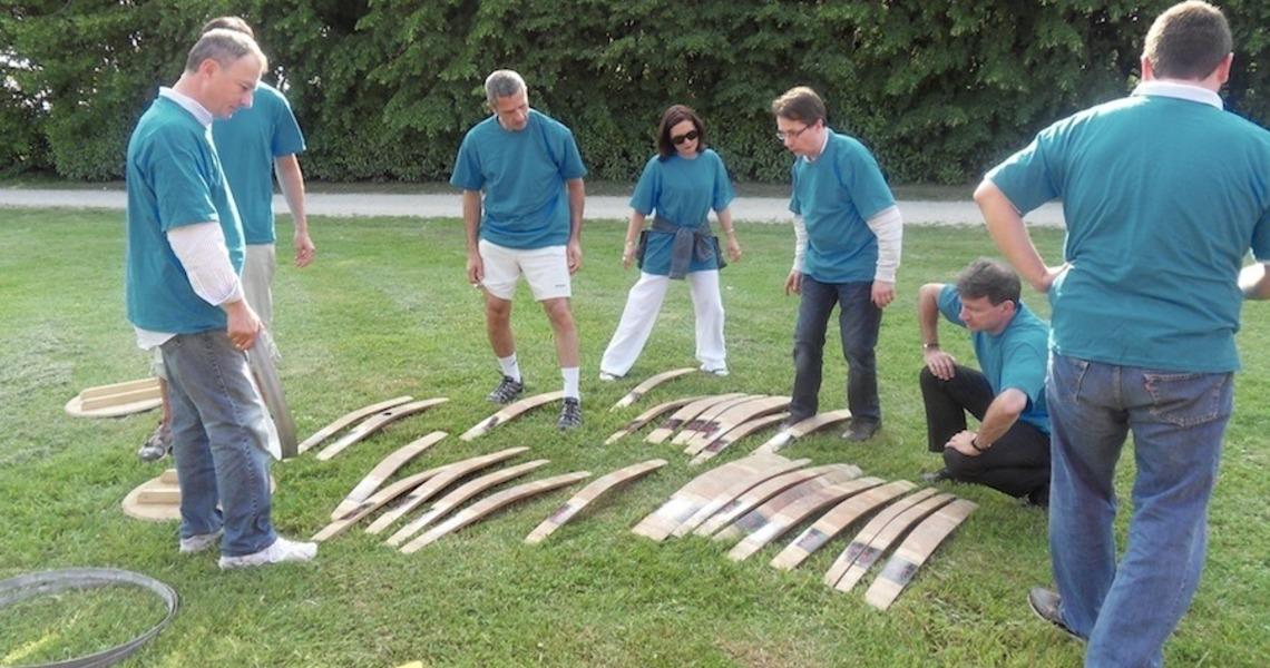 Team building : Les vendangeurs