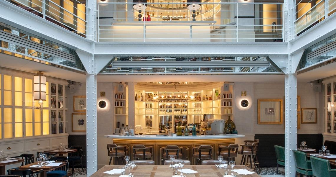 Restaurant bistronomique dans le Marais
