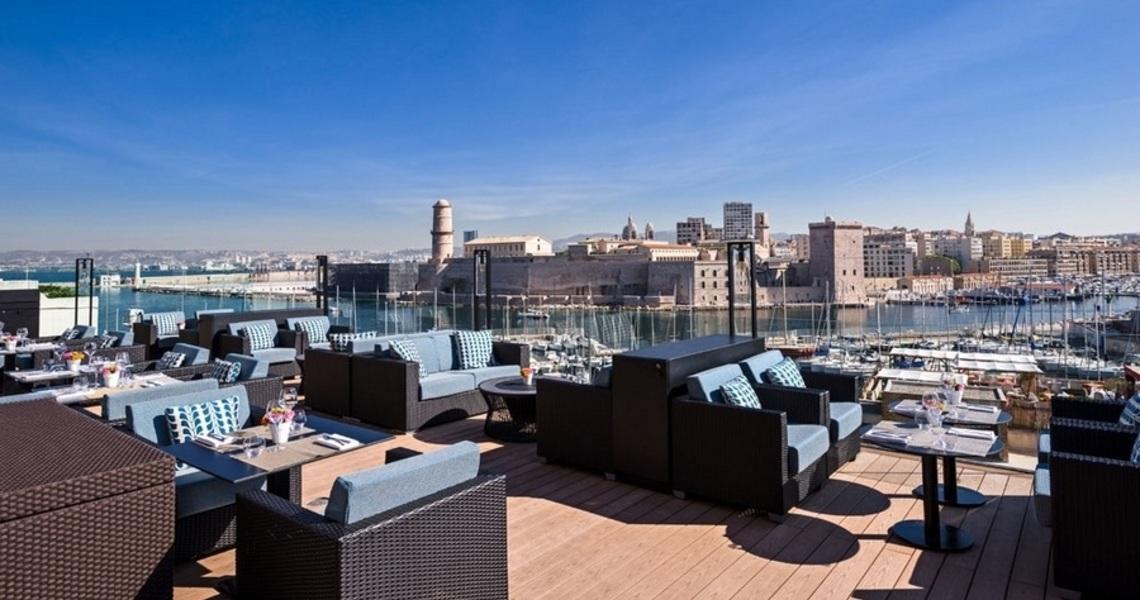 Hôtel de luxe sur le vieux port de Marseille