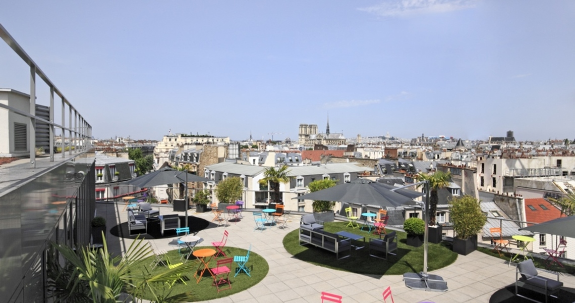 Loft avec Terrasse dans le Quartier Latin