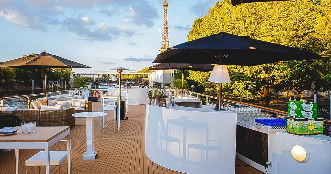 Pavillon en bord de Seine