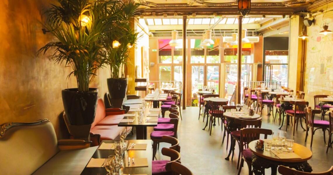 Restaurant traditionnel français dans le 10ème